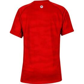 Marmot Cyclone - Camiseta manga corta Niños - rojo